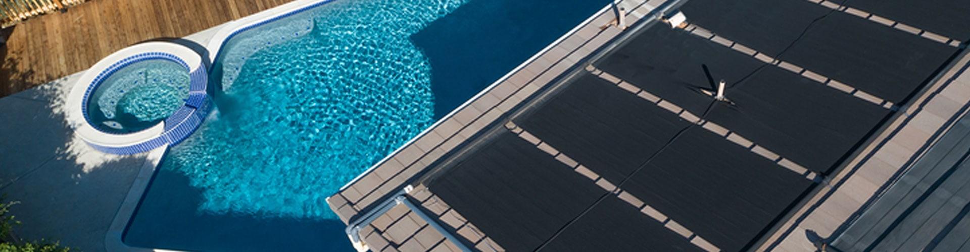 Solaranlage zur Beheizung